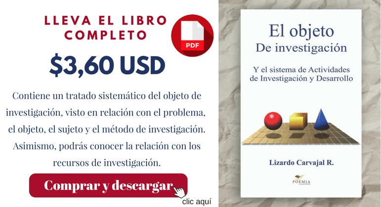 Banner el objeto de investigacion pdf